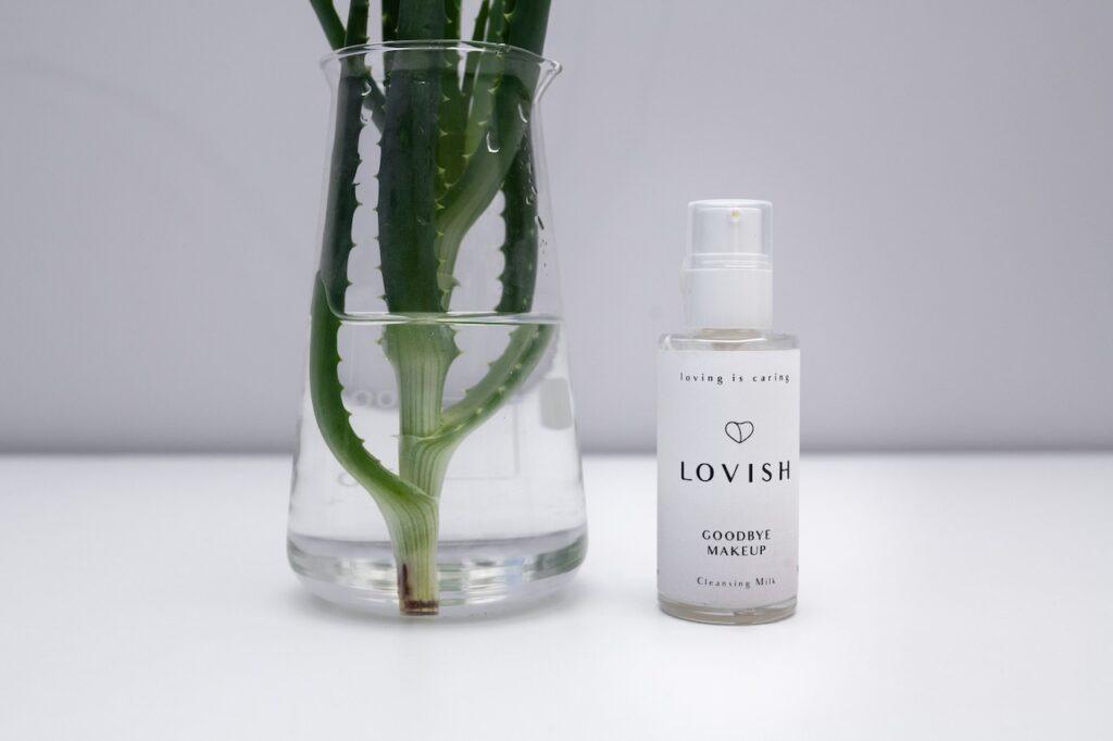 Polskie kosmetyki Lovish: mleczko Goodbye makeup