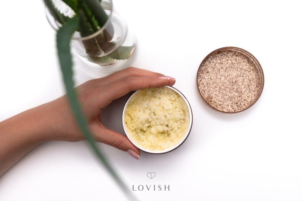 Polskie kosmetyki Lovish: scrub Fruit Ecstasy